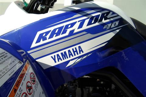 2019 Yamaha Raptor 90 in San Marcos, California - Photo 7