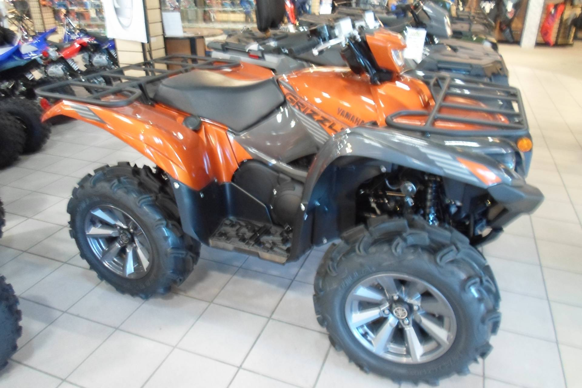 2021 Yamaha Grizzly EPS SE in San Marcos, California - Photo 1