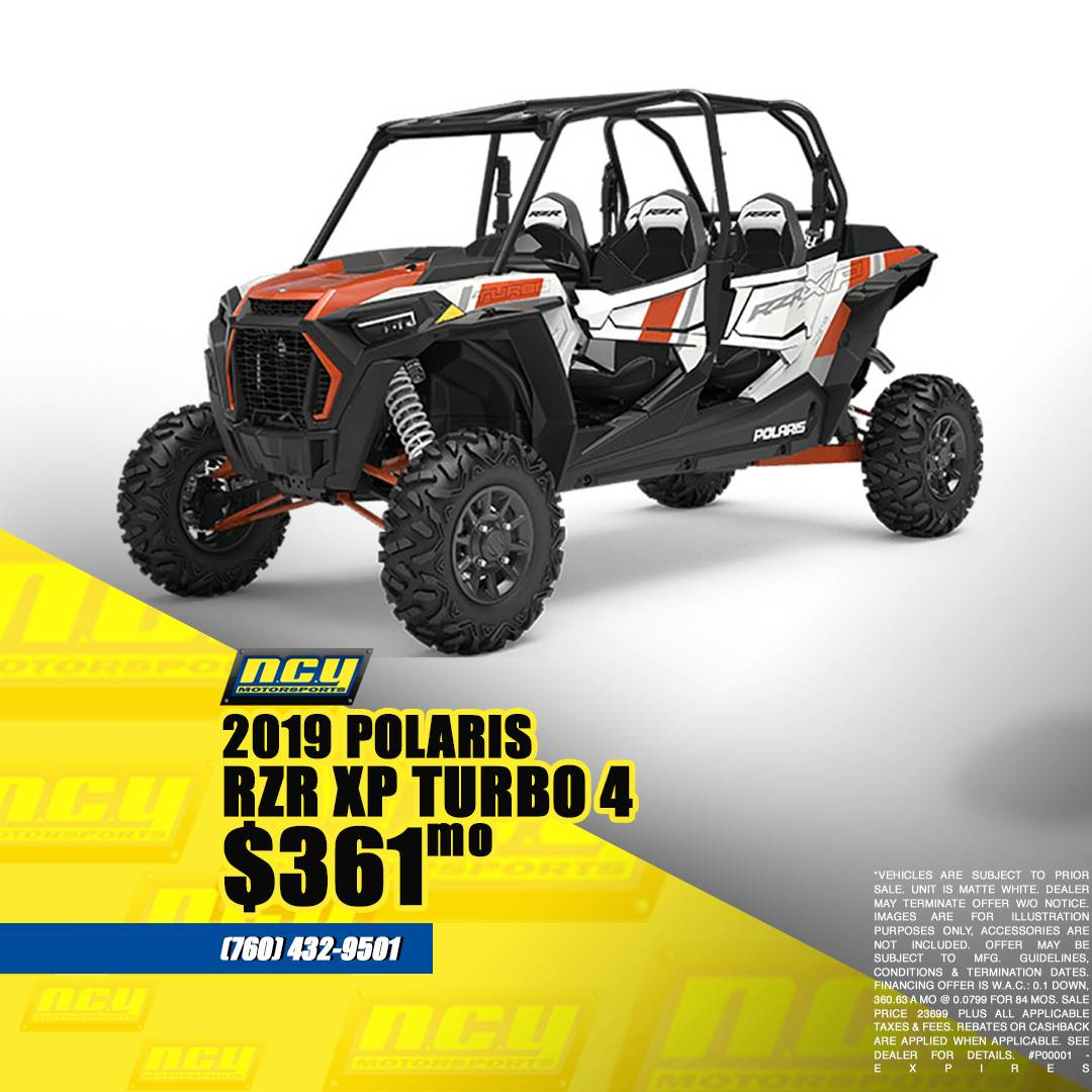 2019 Polaris RZR XP 4 Turbo in San Marcos, California - Photo 1