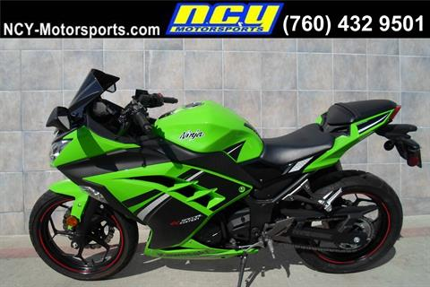 2014 Kawasaki Ninja® 300 SE in San Marcos, California - Photo 1