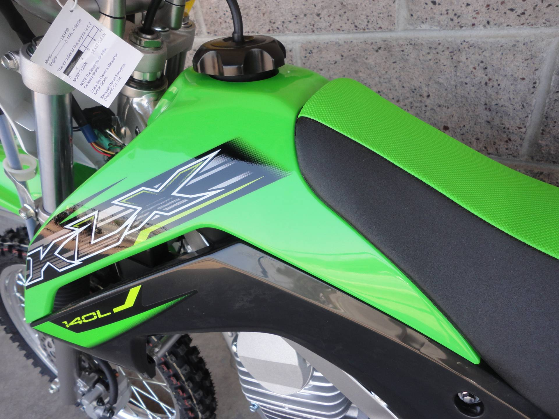 2019 Kawasaki KLX 140L in Denver, Colorado - Photo 11