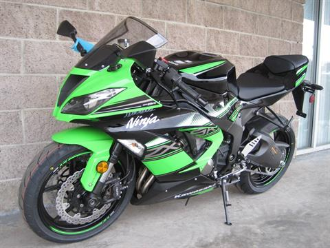 2016 Kawasaki Ninja ZX-6R ABS KRT Edition in Denver, Colorado