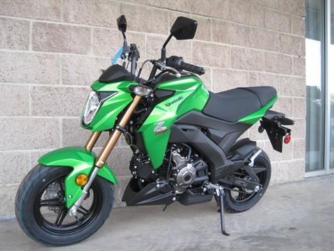 2017 Kawasaki Z125 Pro in Denver, Colorado