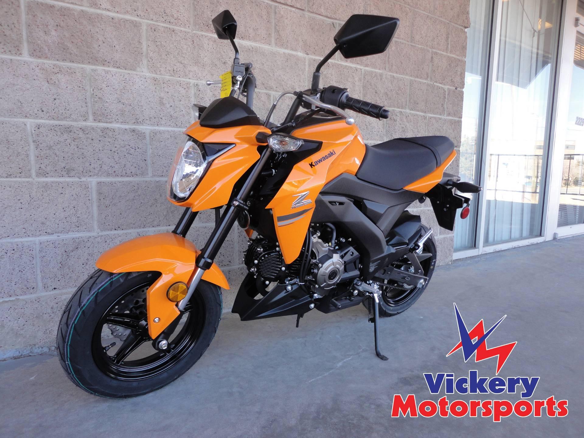 2019 Kawasaki Z125 Pro Motorcycles Denver Colorado V5082