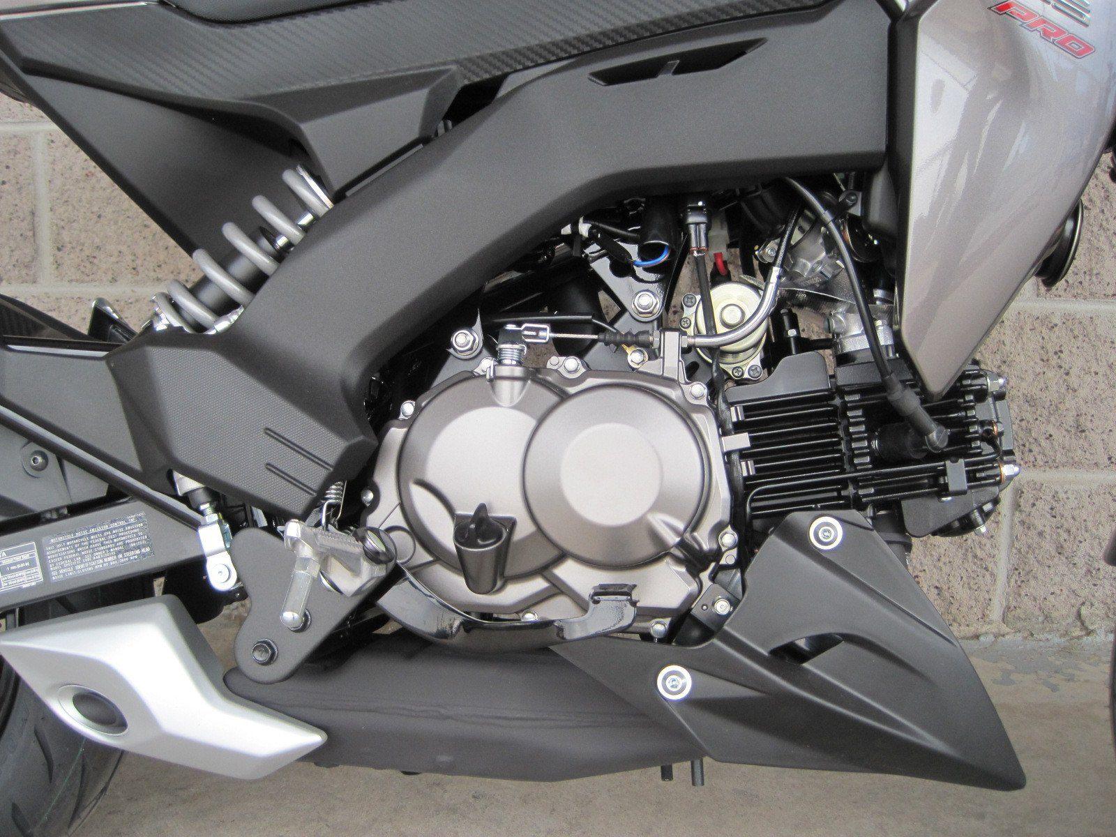 2017 Kawasaki Z125 Pro in Denver, Colorado