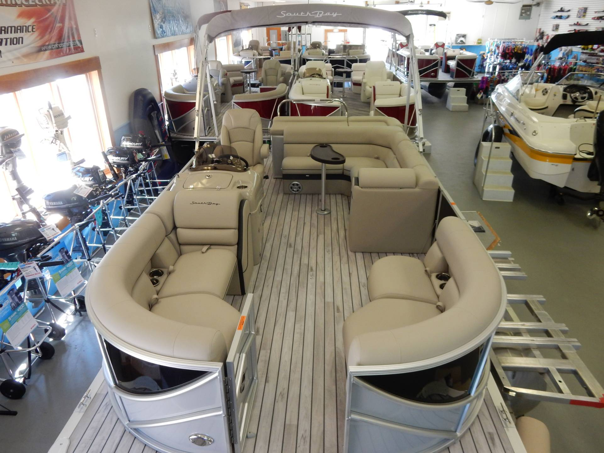 2017 South Bay 519 CR in Center Ossipee, New Hampshire