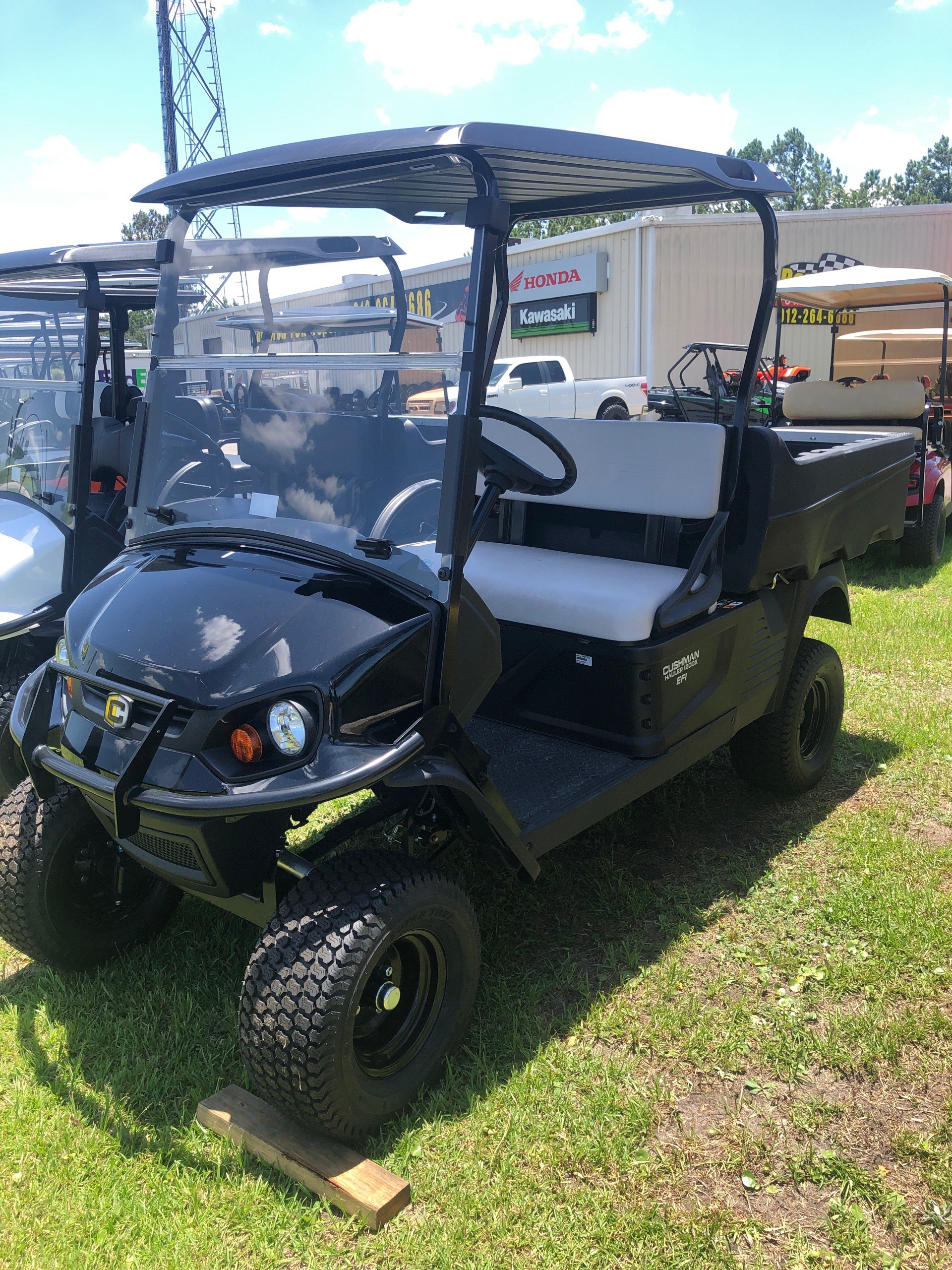 2019 Cushman Hauler 1200X Gas in Brunswick, Georgia
