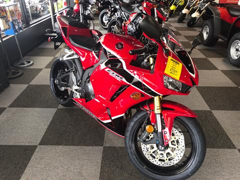 2018 Honda CBR600RR in Brunswick, Georgia