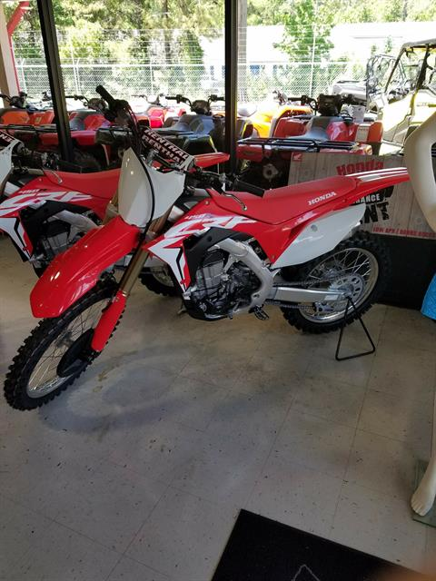 2018 Honda CRF450R in Brunswick, Georgia