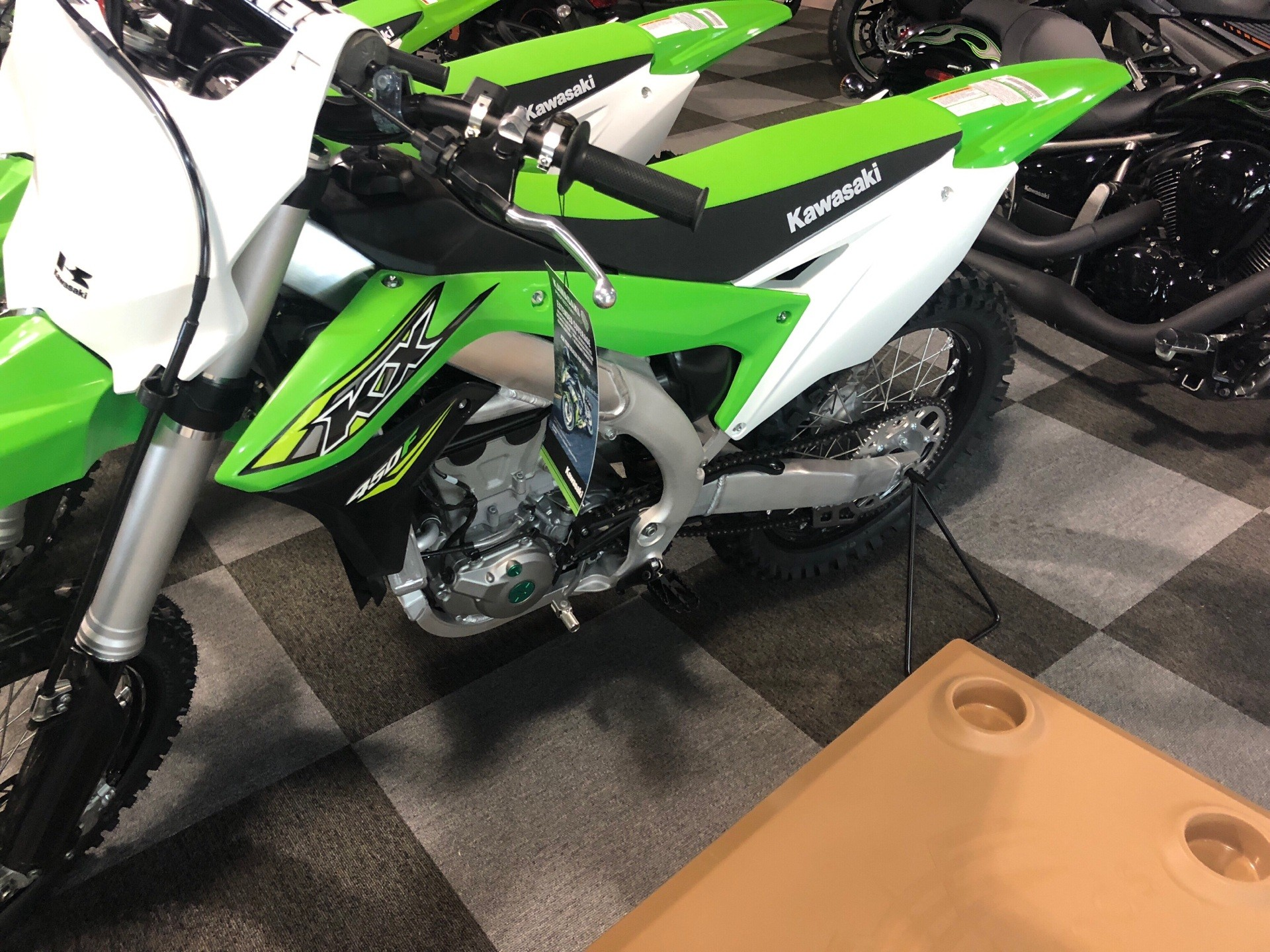 2017 Kawasaki KX450F in Brunswick, Georgia