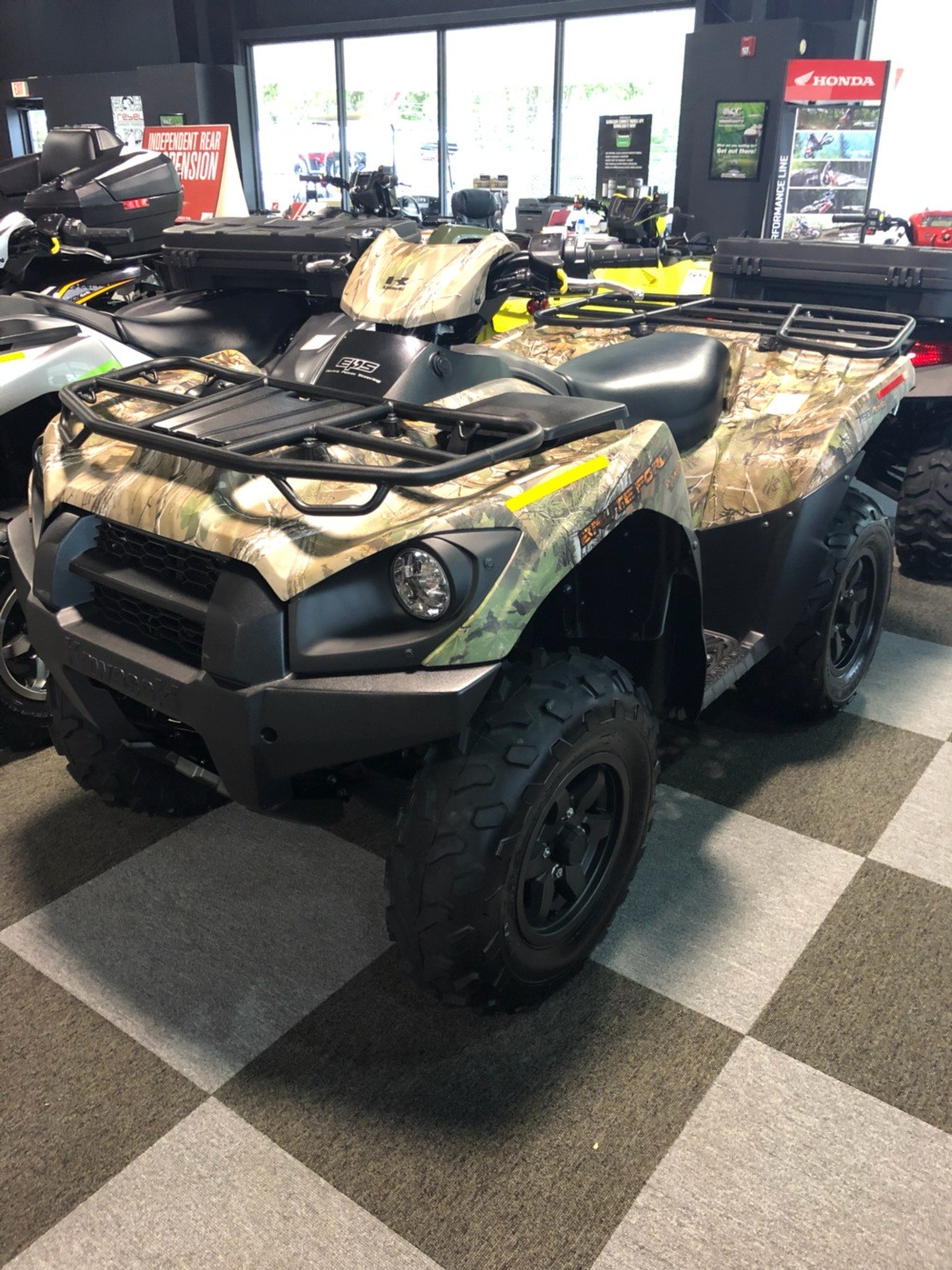 2019 Kawasaki Brute Force 750 4x4i EPS Camo in Brunswick, Georgia - Photo 1