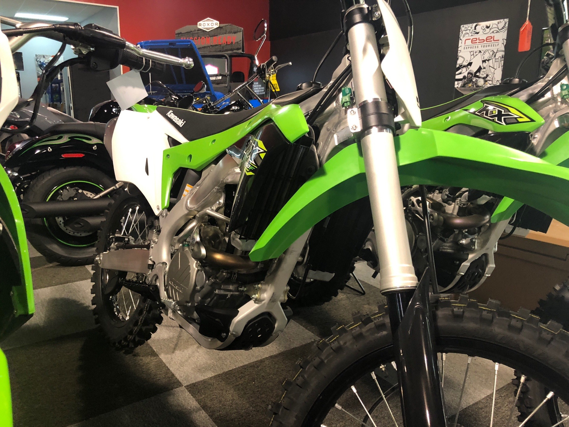 2018 Kawasaki KX 250F in Brunswick, Georgia