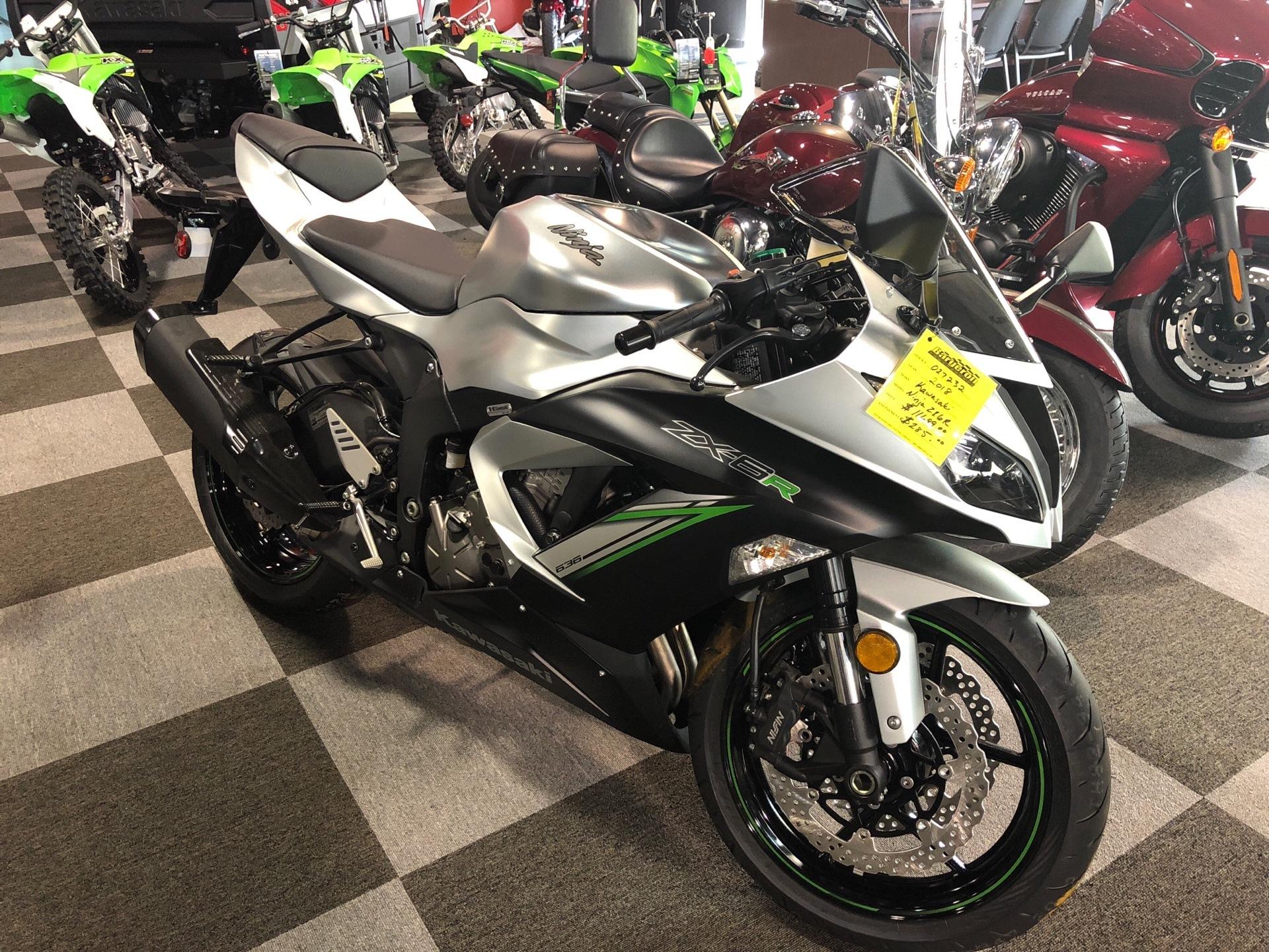 2018 Kawasaki Ninja ZX-6R for sale 2220