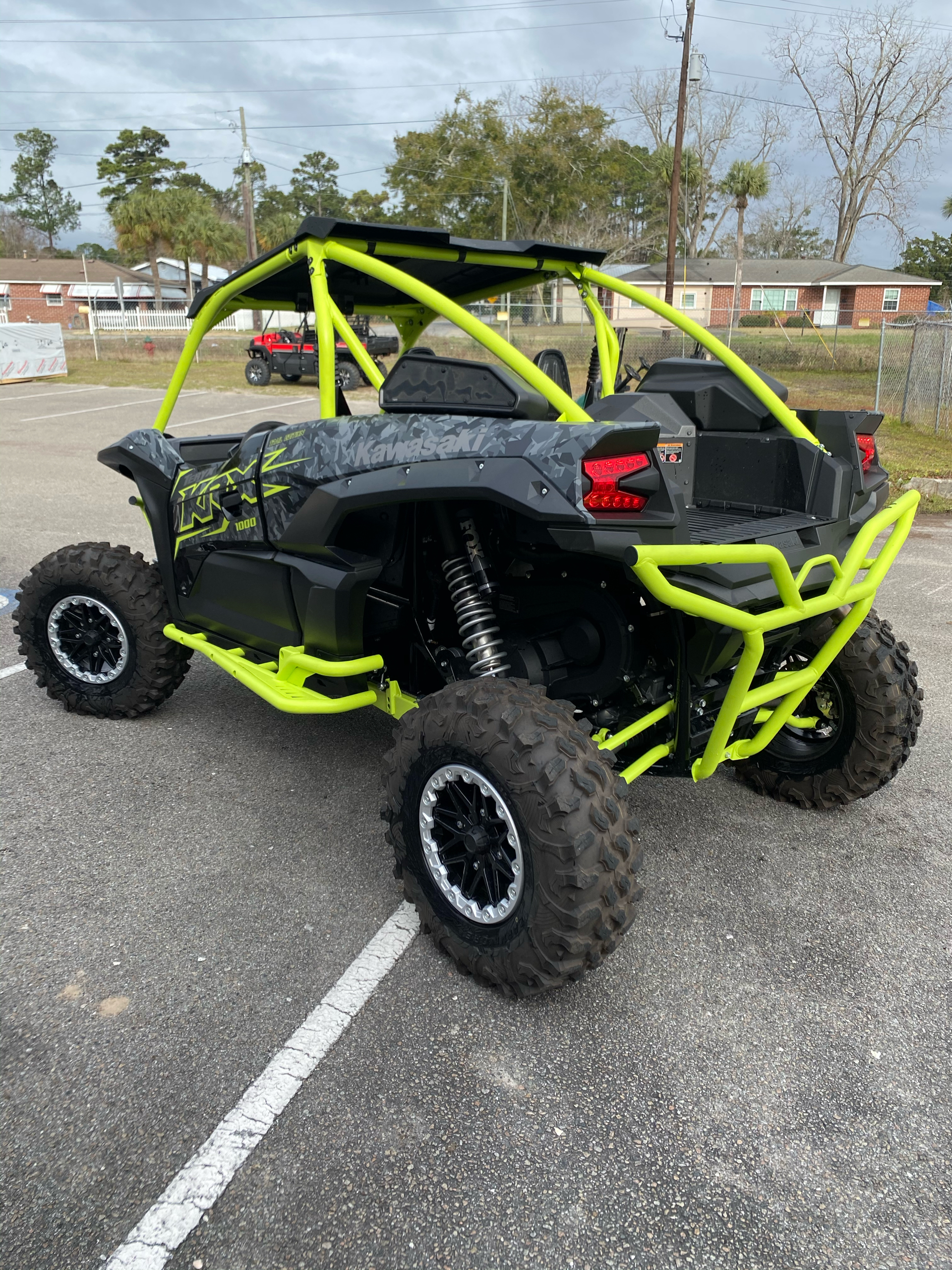 2021 Kawasaki Teryx KRX 1000 Trail Edition in Brunswick, Georgia - Photo 4