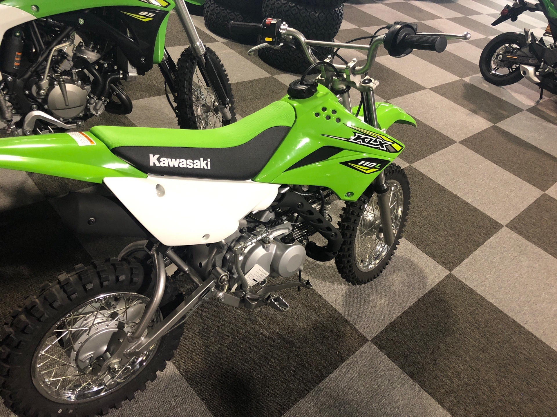 2018 Kawasaki KLX 110L in Brunswick, Georgia