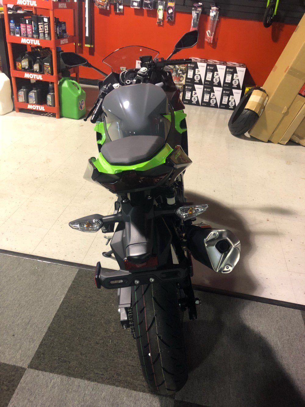 2019 Kawasaki Ninja 400 ABS in Brunswick, Georgia