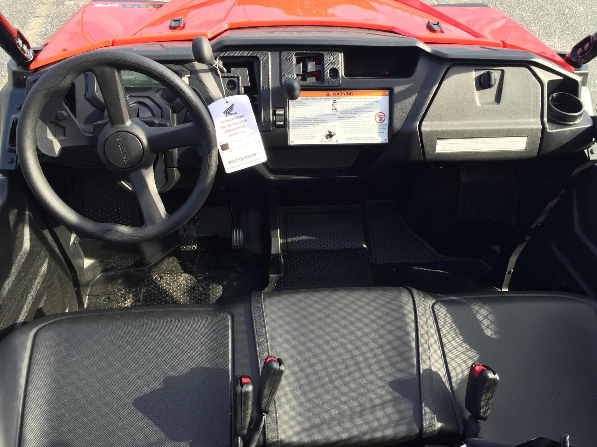 2016 Honda Pioneer 1000 EPS 4