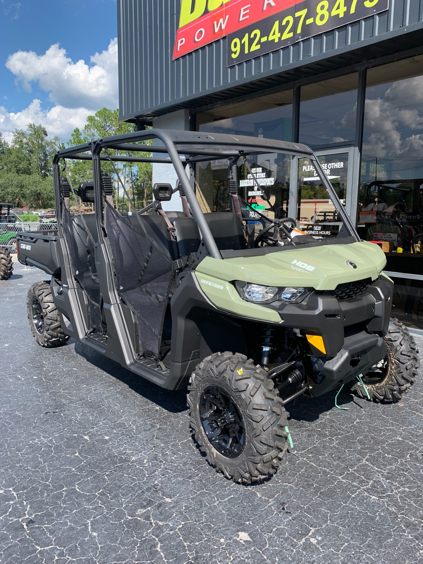 2019 Can-Am Defender MAX HD8 in Jesup, Georgia - Photo 2