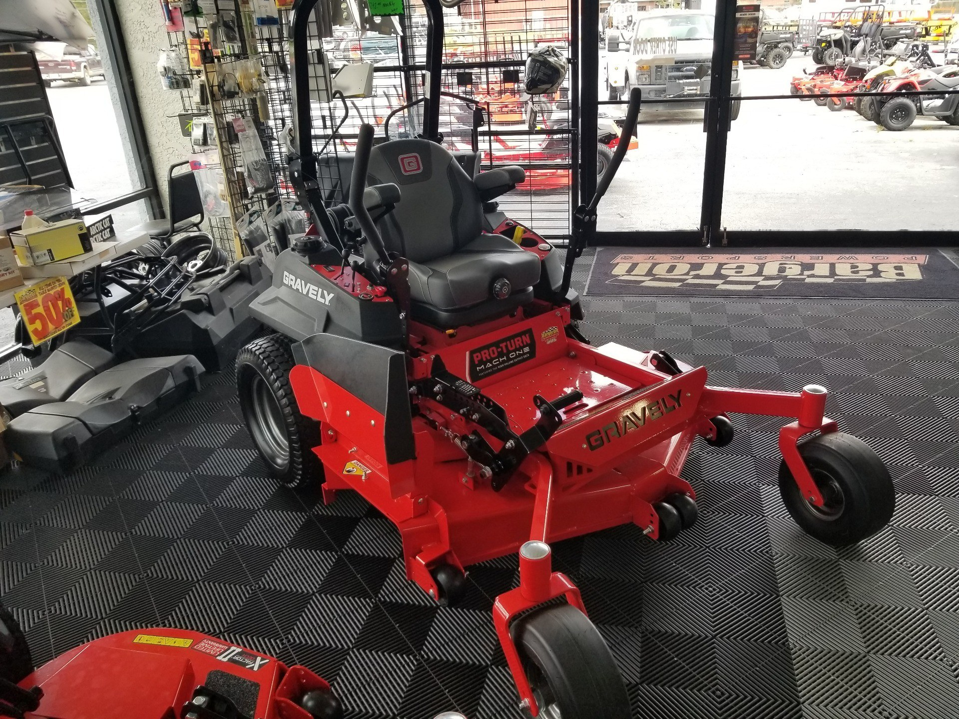 2020 Gravely USA Pro-Turn Mach One 60 in. Kawasaki FX921V 31 hp in Jesup, Georgia - Photo 1