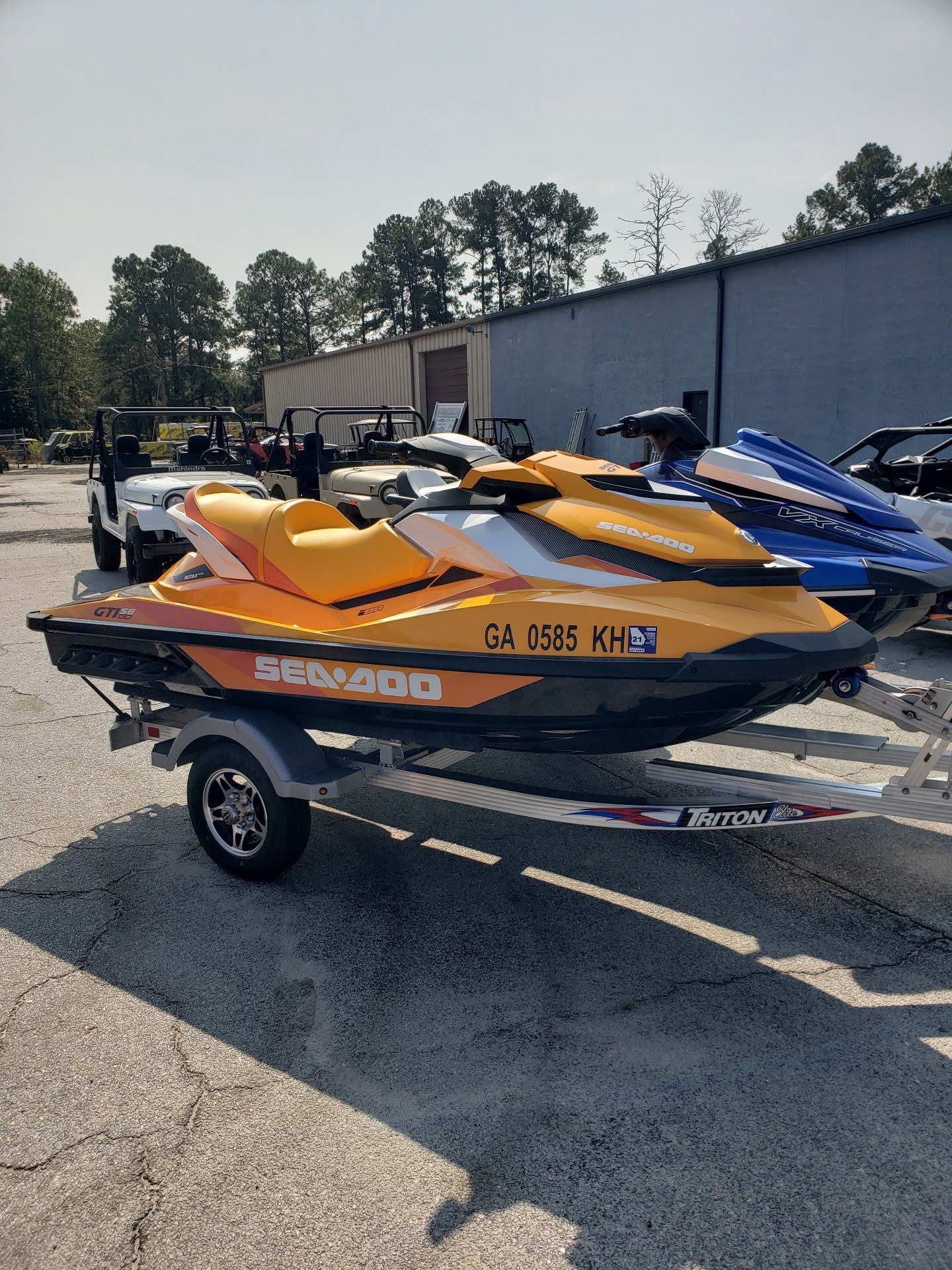 2017 Sea-Doo GTI SE 130 1
