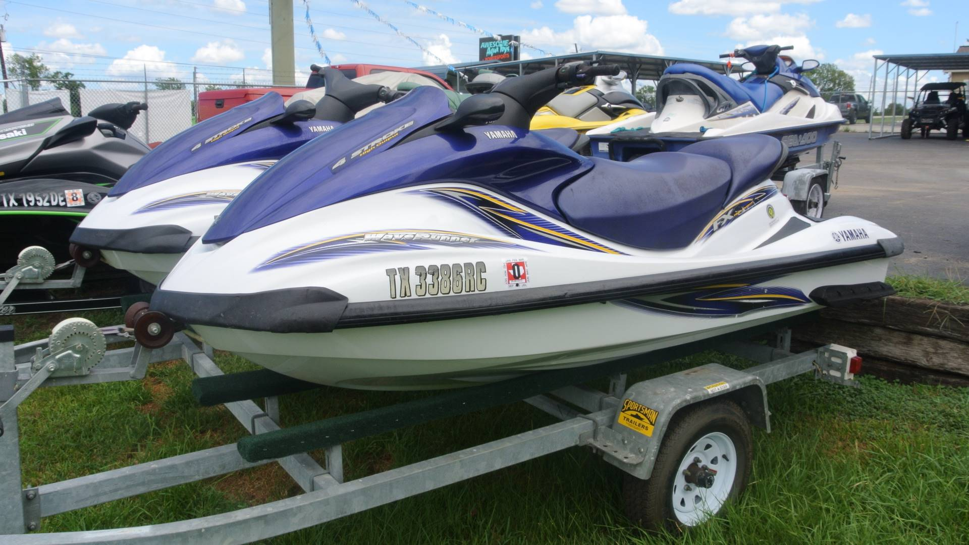2004 Yamaha WaveRunner® FX High Output in Willis, Texas