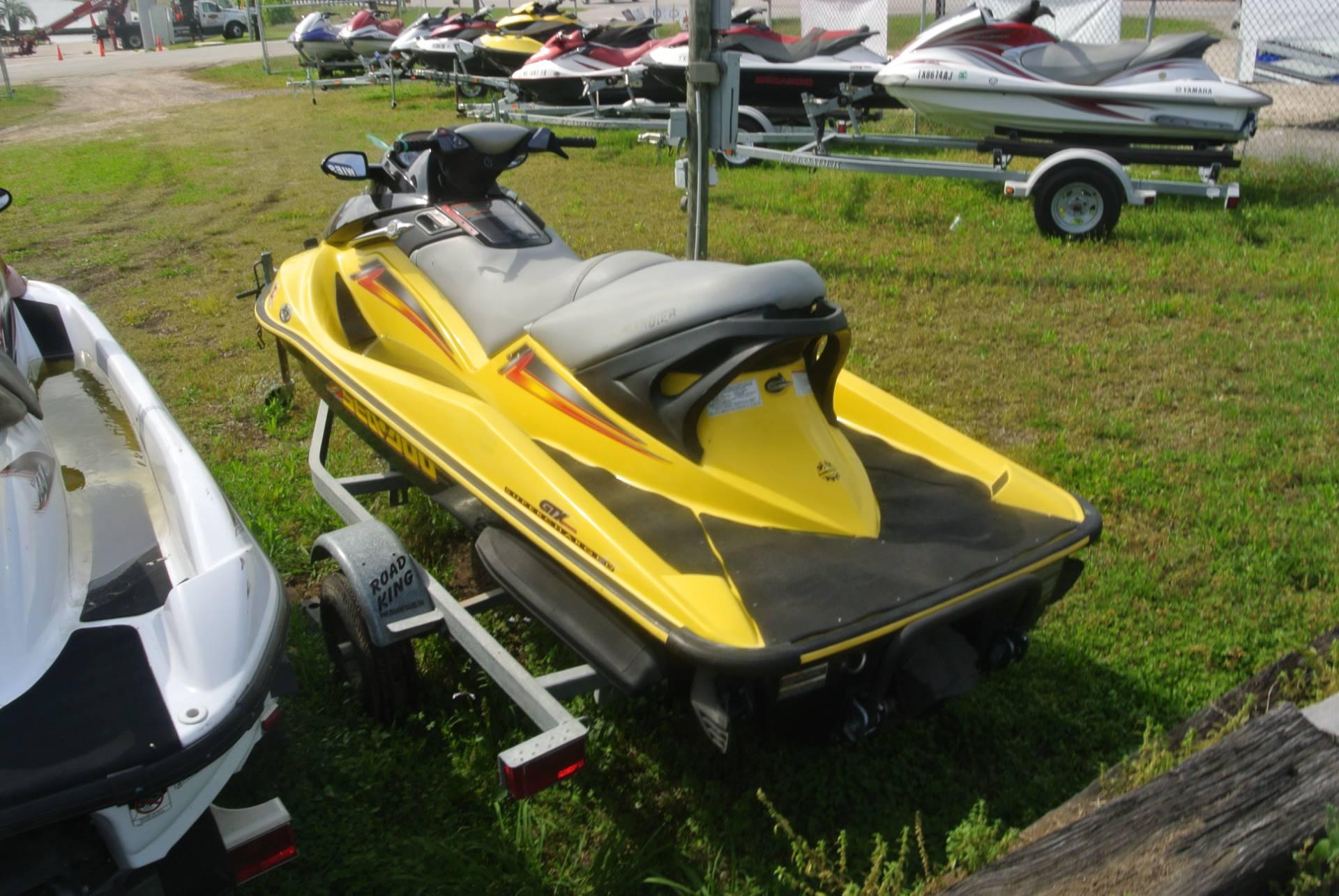 2004 Sea-Doo GTX 4-TEC Supercharged in Willis, Texas