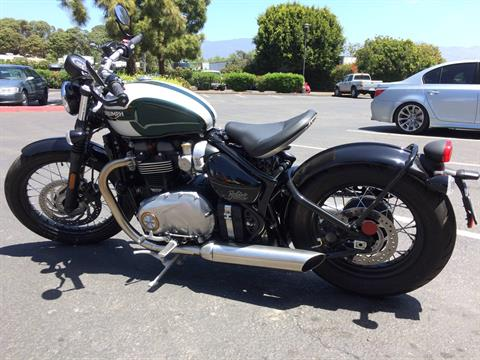 2017 Triumph Bonneville Bobber in Goleta, California