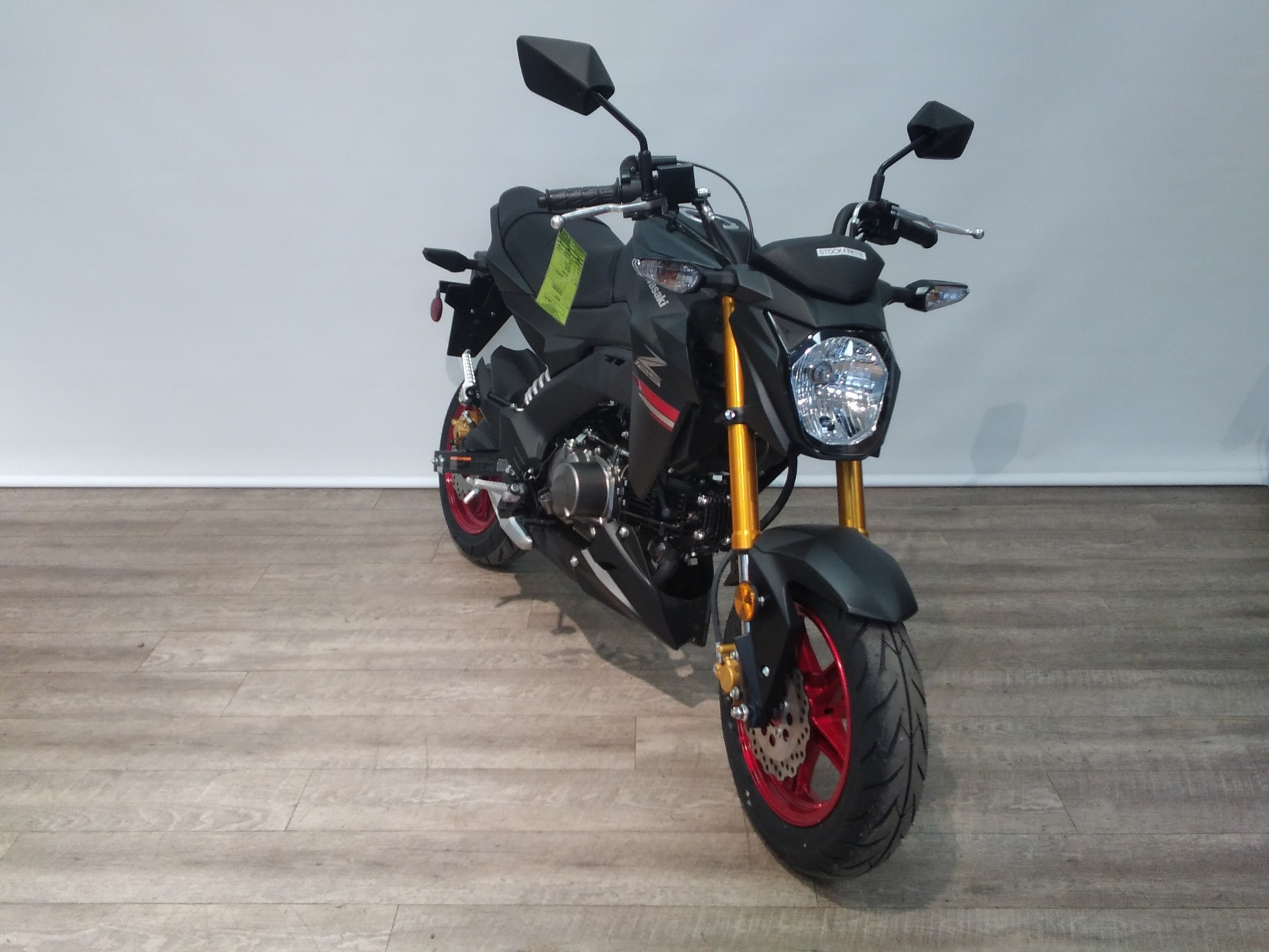 2021 Kawasaki Z125 Pro in Bartonsville, Pennsylvania - Photo 1