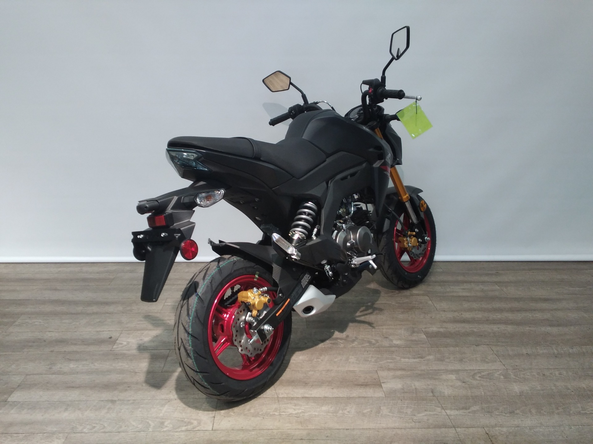 2021 Kawasaki Z125 Pro in Bartonsville, Pennsylvania - Photo 3