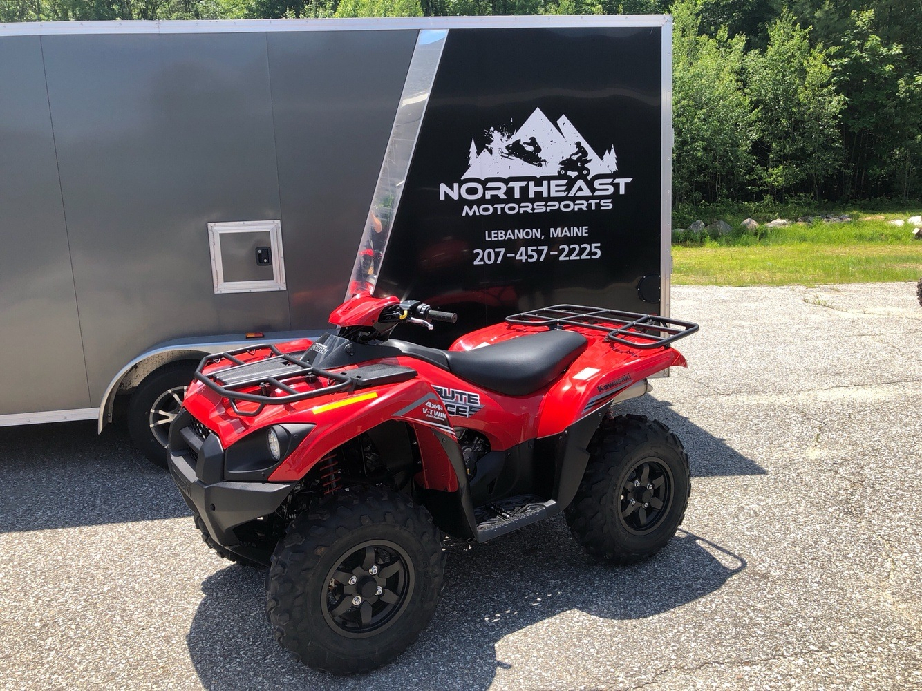 2020 Kawasaki Brute Force 750 4x4i in Lebanon, Maine - Photo 1