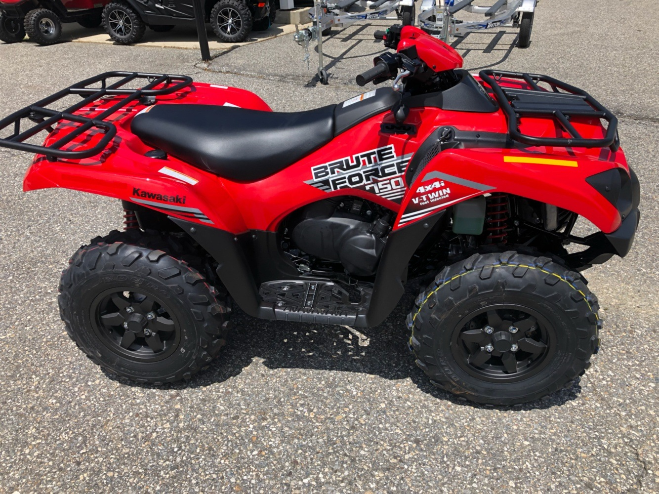2020 Kawasaki Brute Force 750 4x4i in Lebanon, Maine - Photo 3