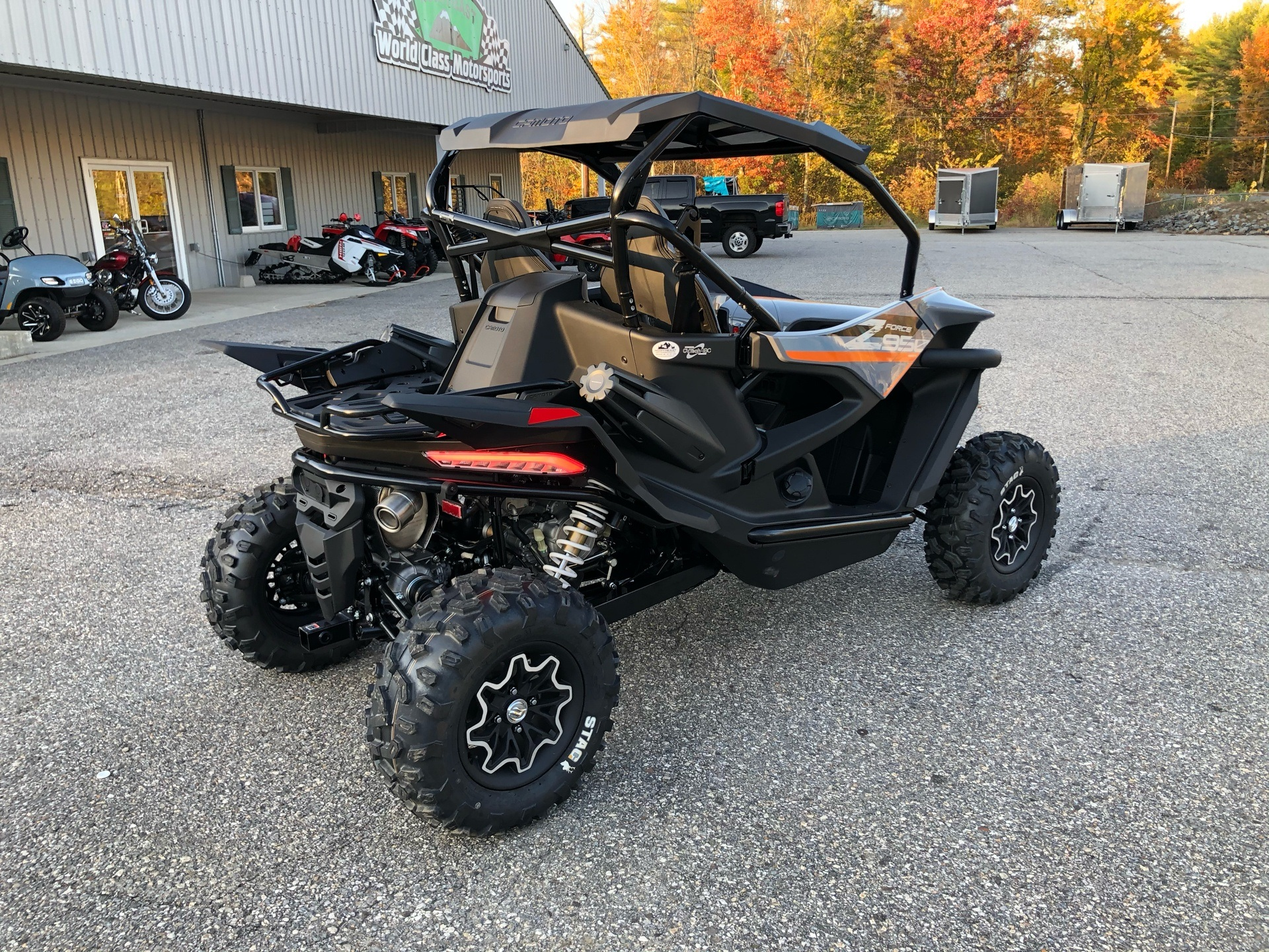 2021 CFMOTO ZForce 950 Sport in Lebanon, Maine - Photo 7
