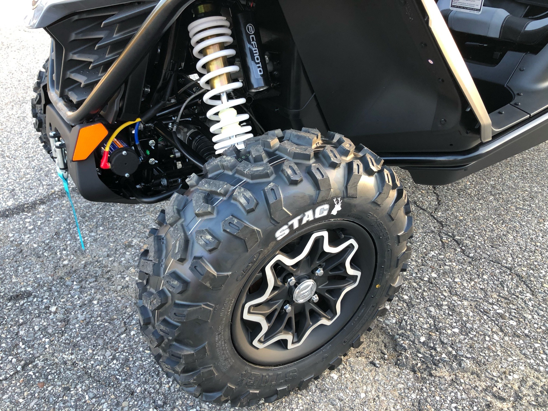 2021 CFMOTO ZForce 950 Sport in Lebanon, Maine - Photo 10
