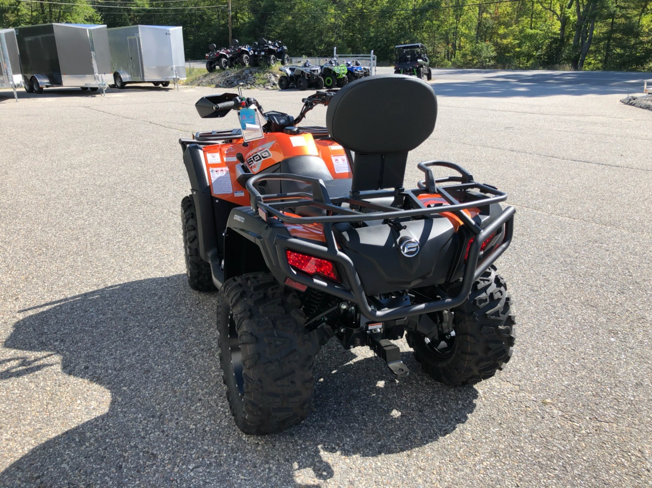 2019 CFMOTO CForce 600 in Lebanon, Maine - Photo 4