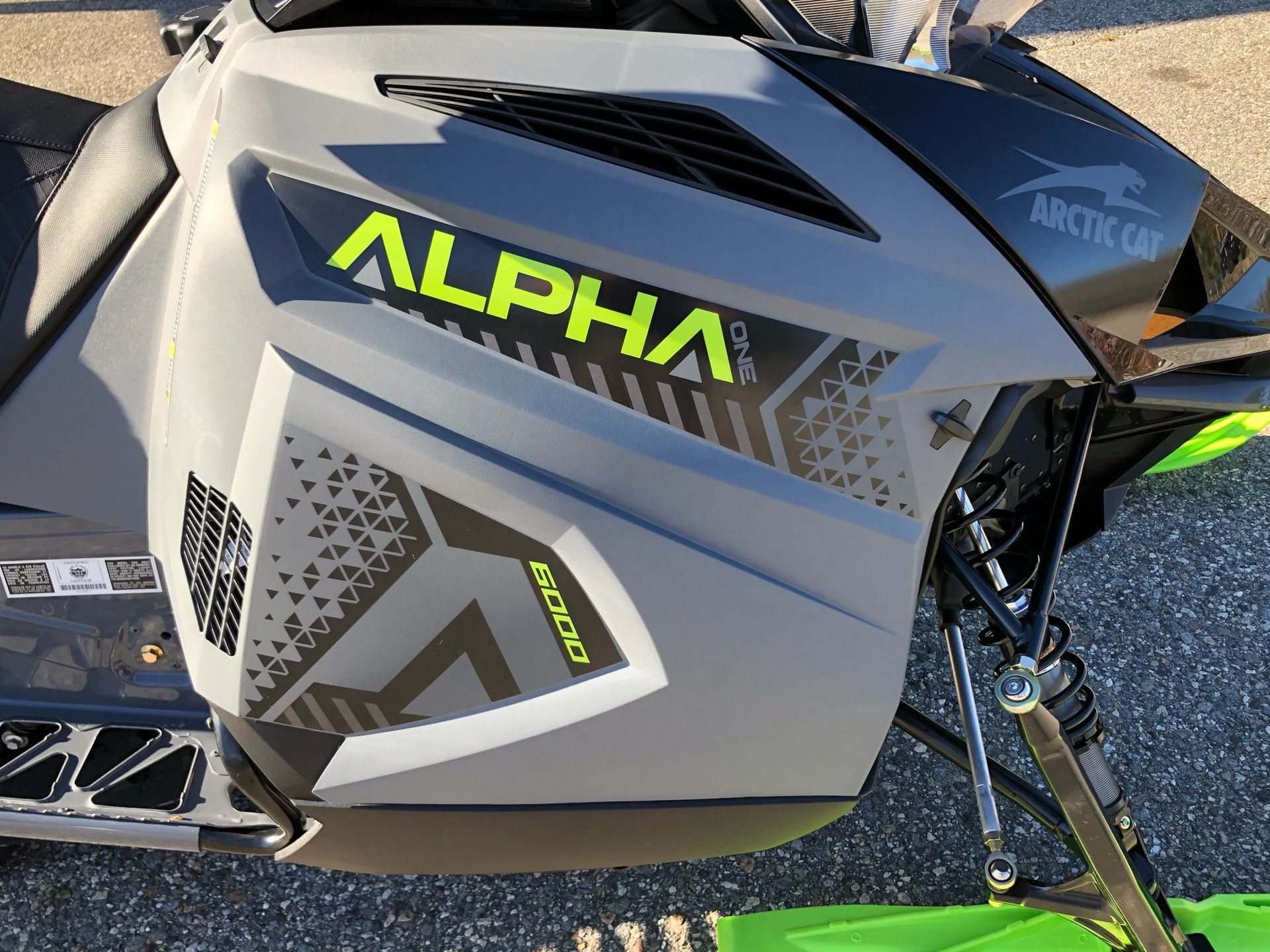 2020 Arctic Cat M 6000 Alpha One 154 in Lebanon, Maine - Photo 8