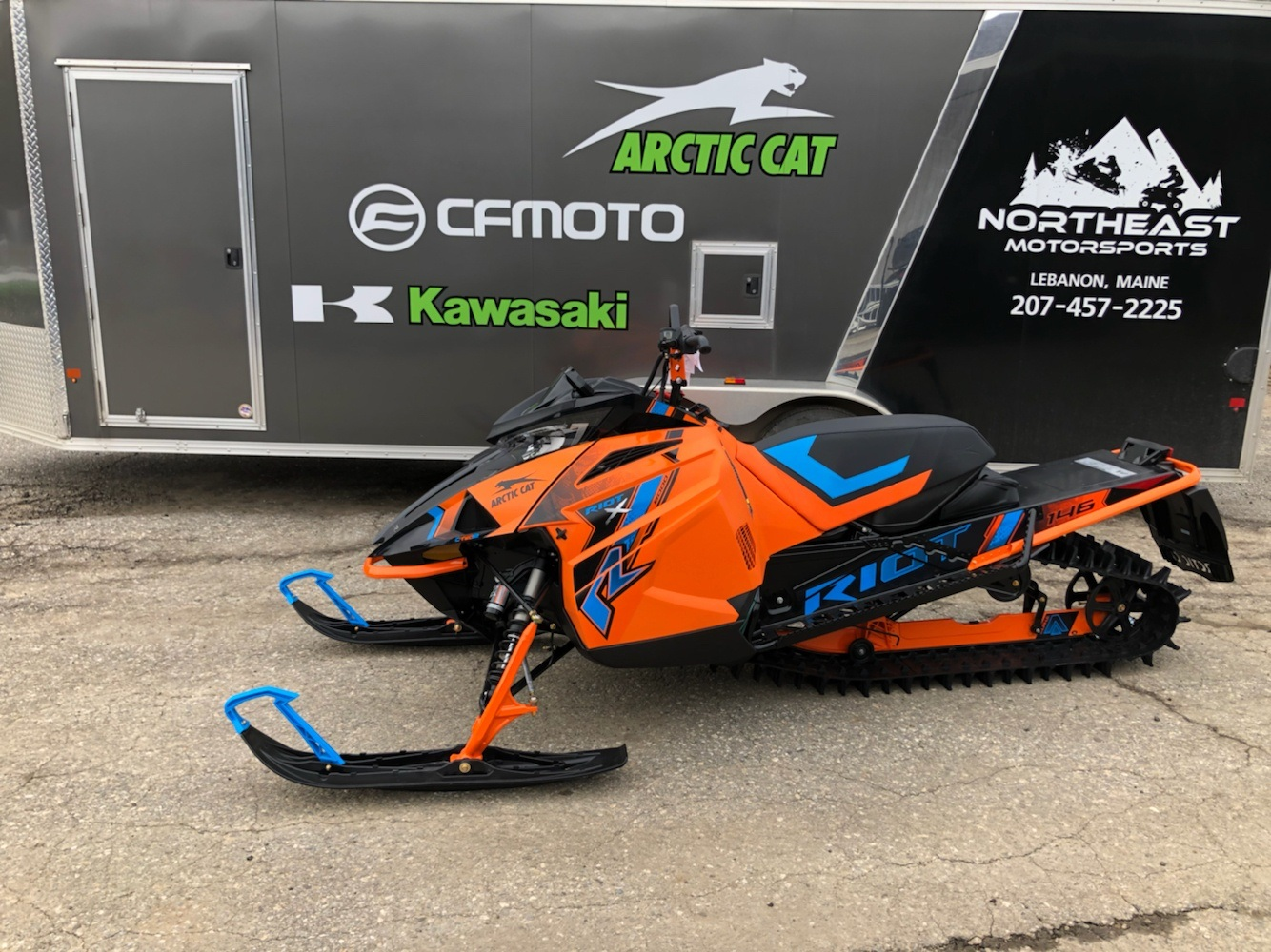 2021 Arctic Cat Riot X 8000 QS3 ES in Lebanon, Maine - Photo 1
