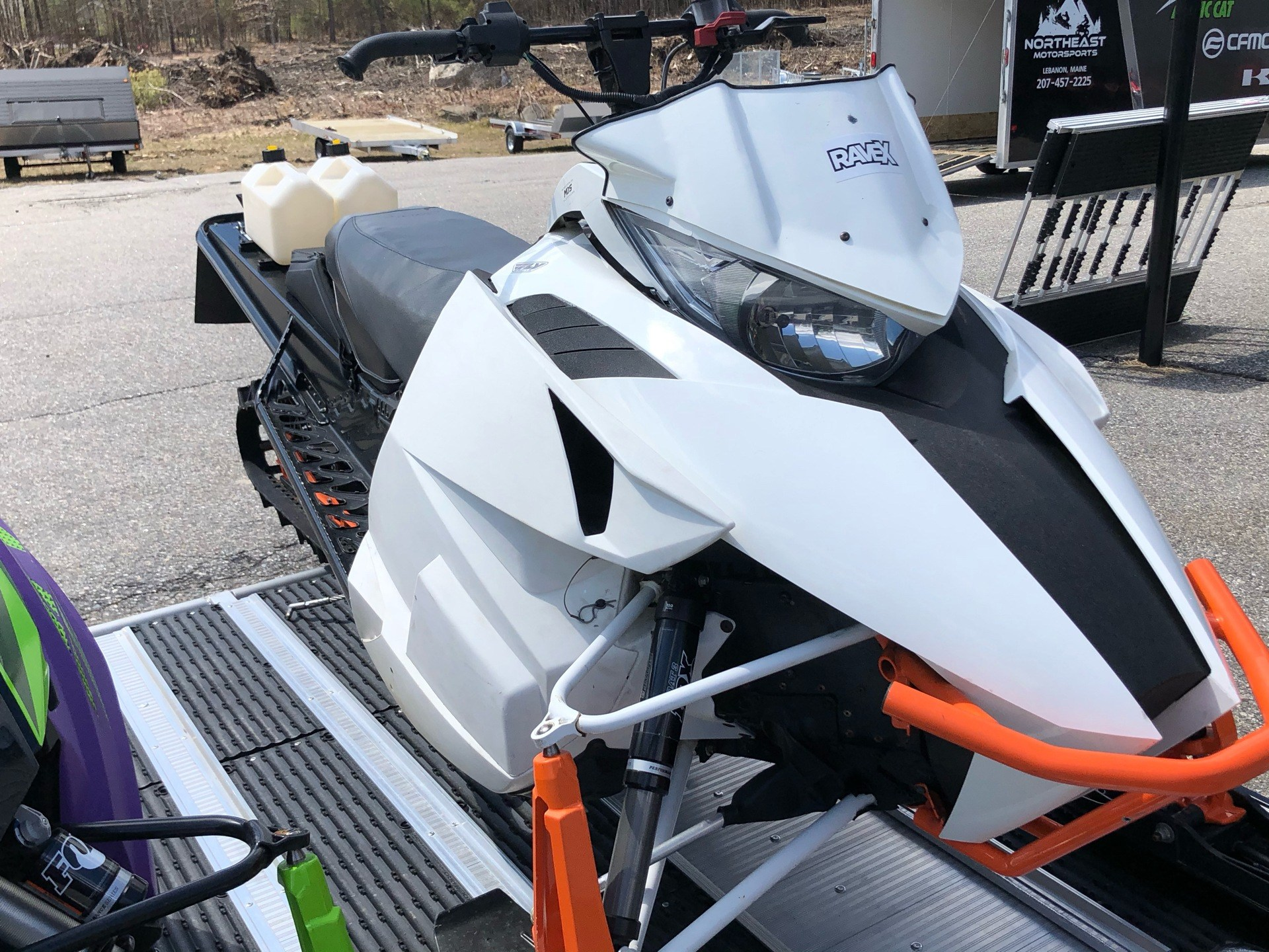 "2015 Arctic Cat M 8000 153"" Sno Pro Limited ES in Lebanon, Maine - Photo 3"