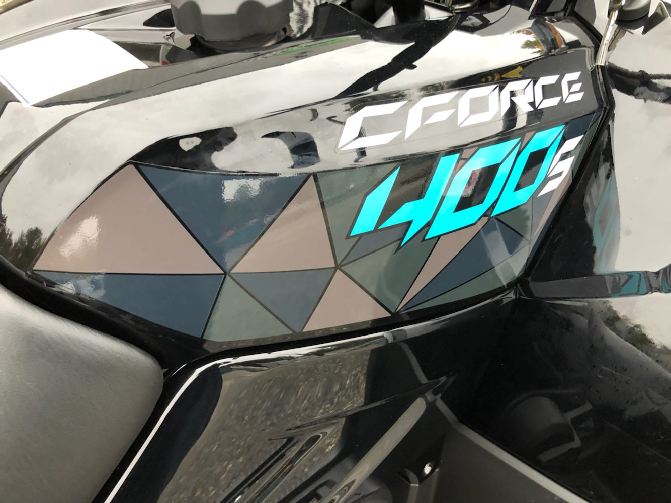 2020 CFMOTO CForce 400 in Lebanon, Maine - Photo 9