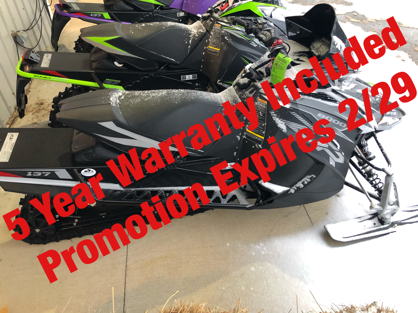 2019 Arctic Cat ZR 8000 Limited ES 137 in Lebanon, Maine - Photo 1