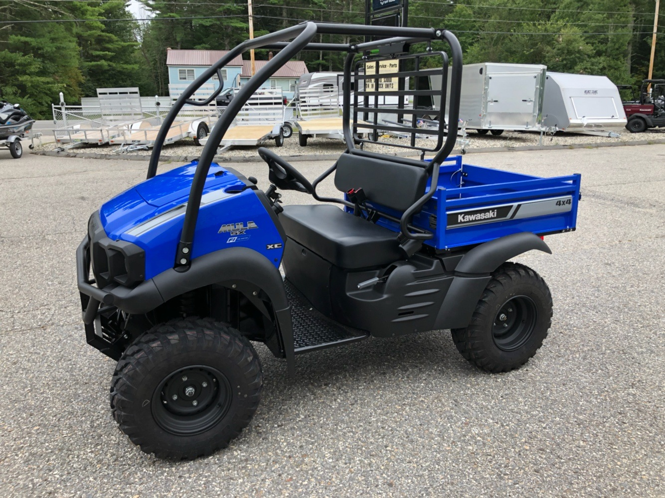 2020 Kawasaki Mule SX 4X4 XC FI in Lebanon, Maine - Photo 2