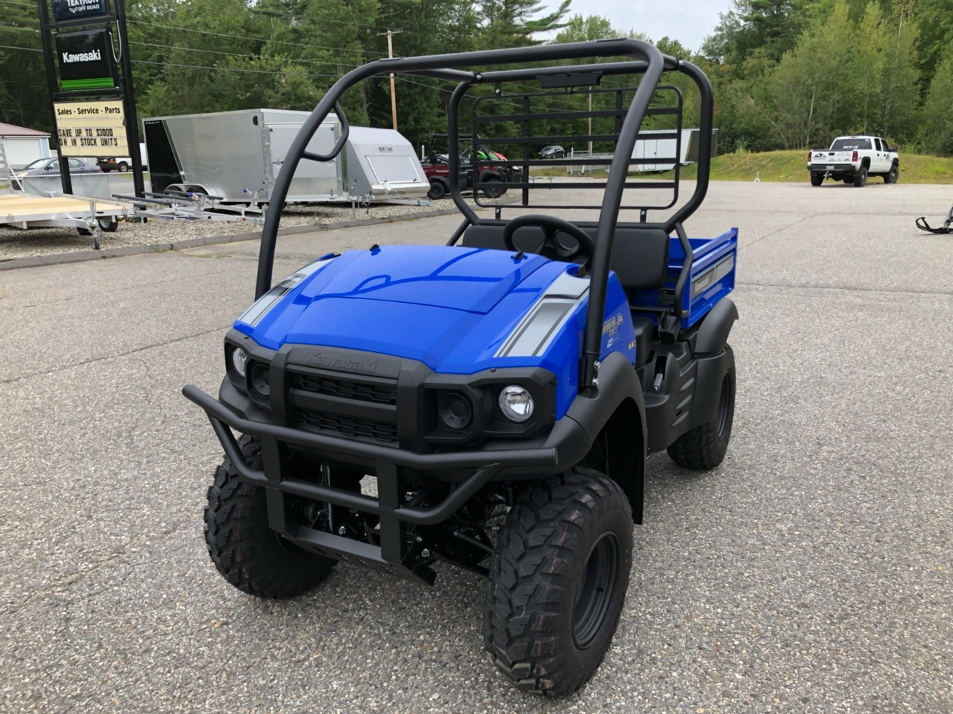 2020 Kawasaki Mule SX 4X4 XC FI in Lebanon, Maine - Photo 3