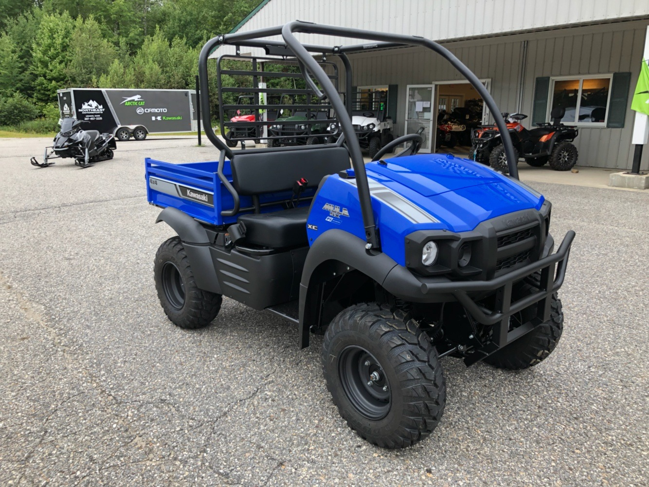 2020 Kawasaki Mule SX 4X4 XC FI in Lebanon, Maine - Photo 5