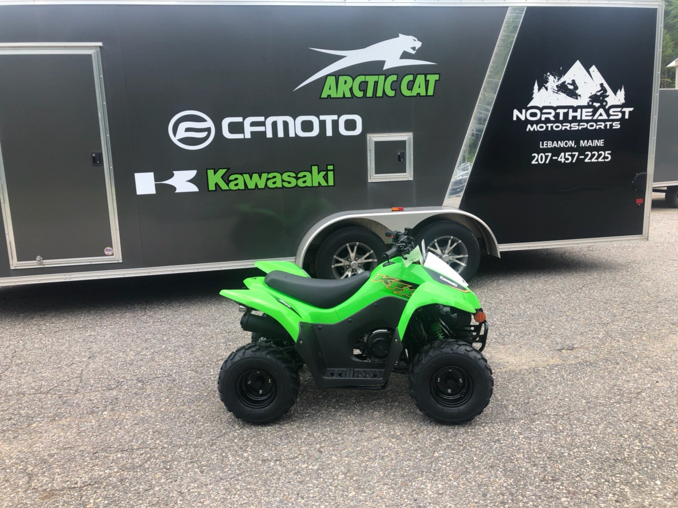 2020 Kawasaki KFX 50 in Lebanon, Maine - Photo 1