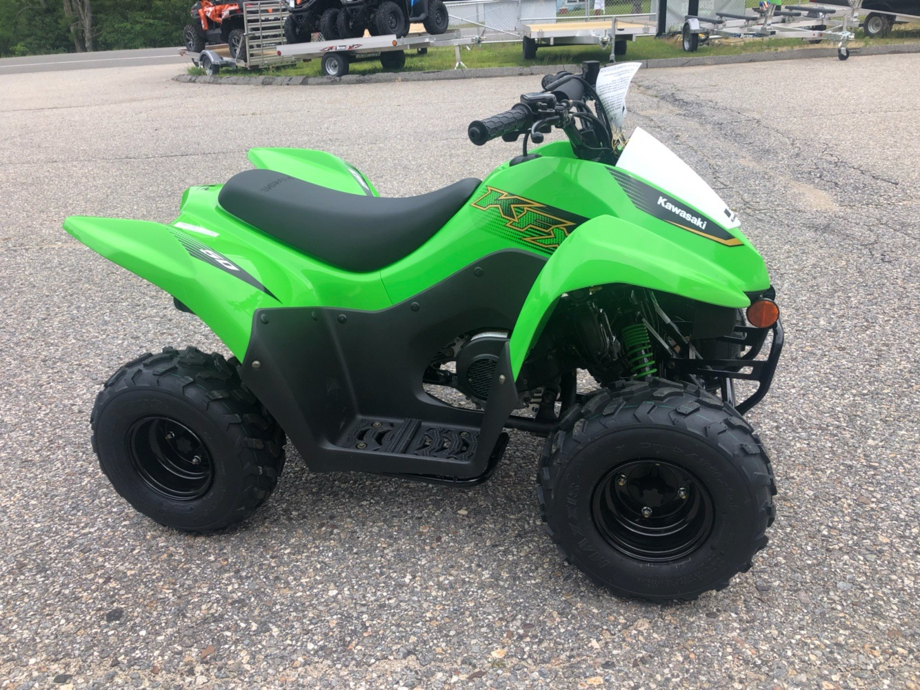 2020 Kawasaki KFX 50 in Lebanon, Maine - Photo 2
