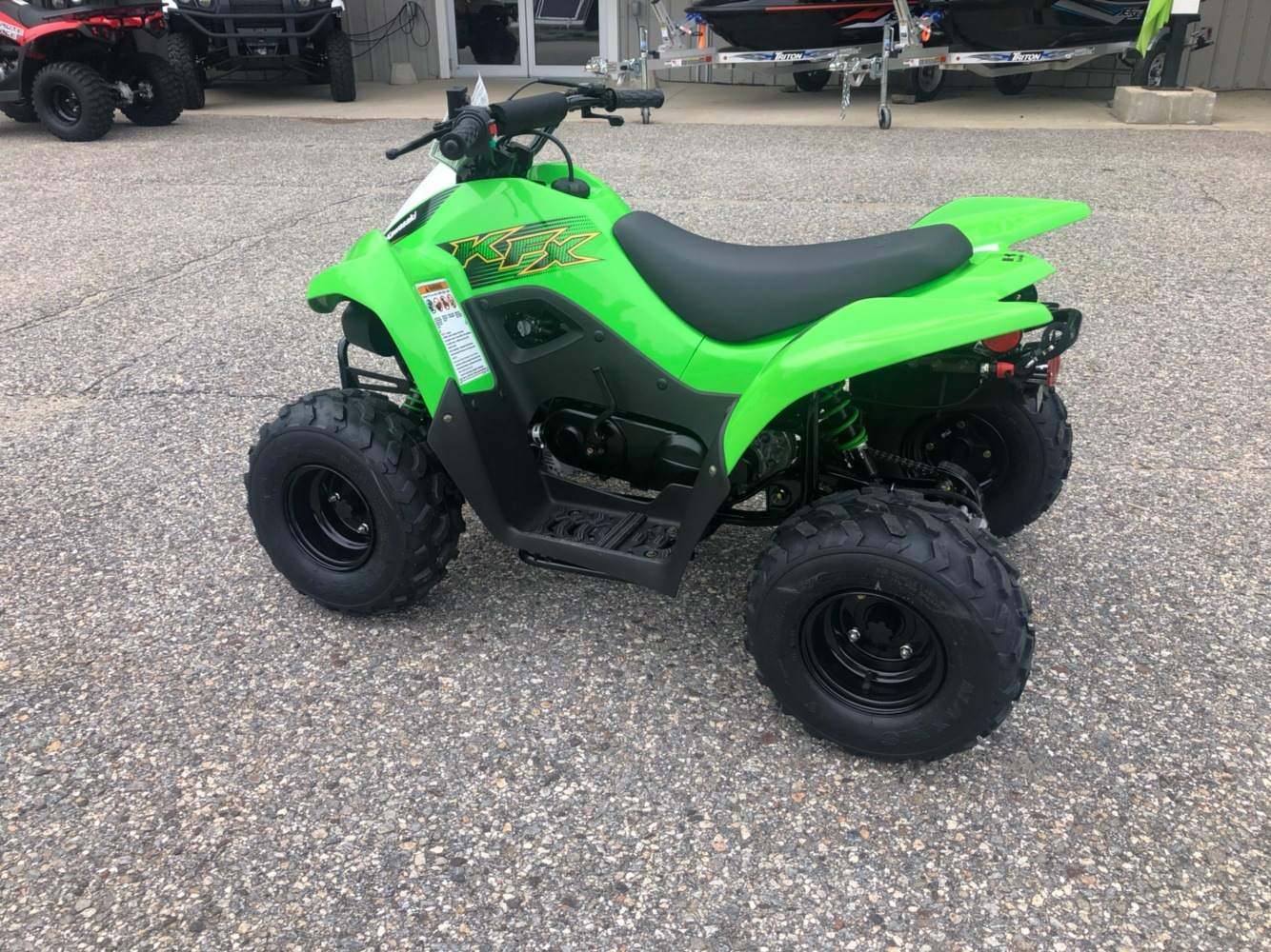2020 Kawasaki KFX 50 in Lebanon, Maine - Photo 4