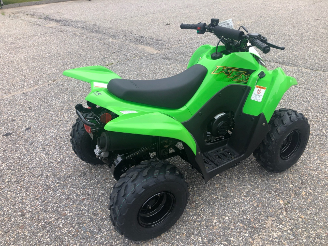 2020 Kawasaki KFX 50 in Lebanon, Maine - Photo 5