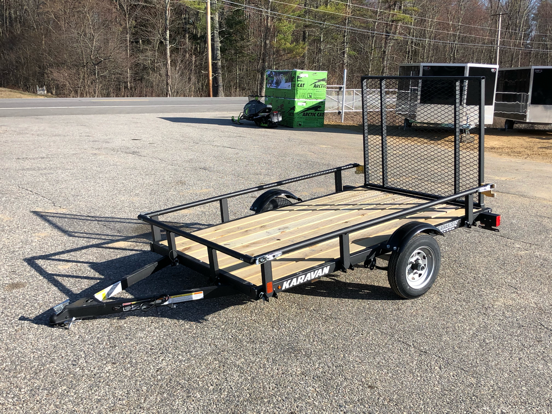 2021 Karavan Trailers 5 x 8 ft. Steel in Lebanon, Maine - Photo 2