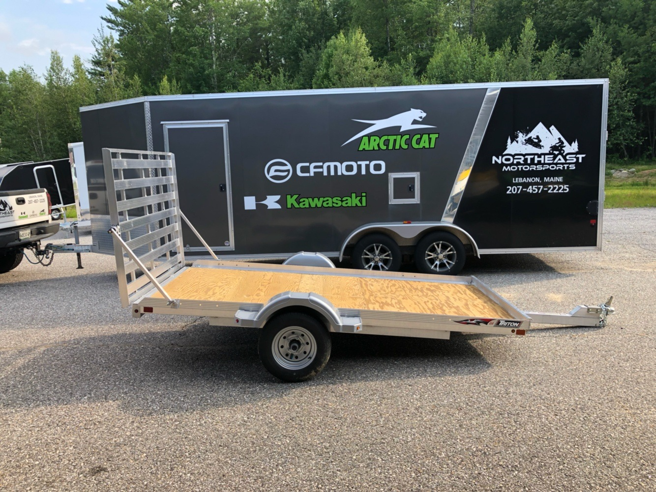 2019 Triton Trailers GU10 in Lebanon, Maine - Photo 1