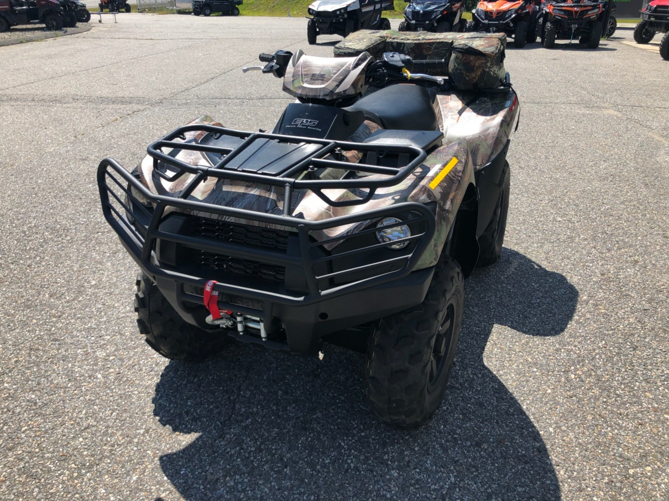 2019 Kawasaki Brute Force 750 4x4i EPS Camo in Lebanon, Maine - Photo 3