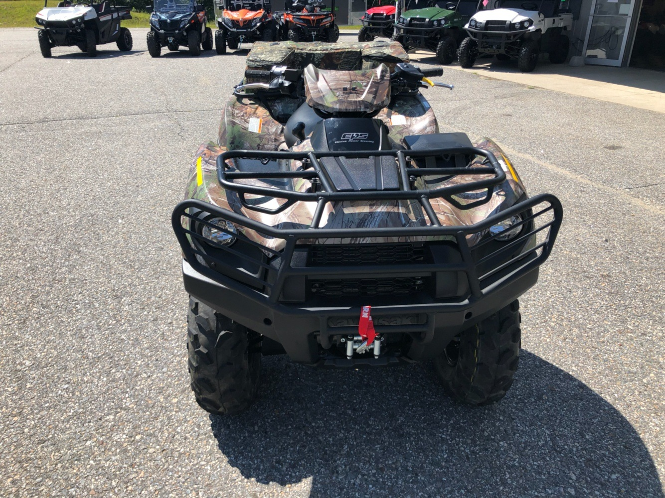 2019 Kawasaki Brute Force 750 4x4i EPS Camo in Lebanon, Maine - Photo 4